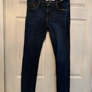 Woman's Abercrombie and Fitch skinny jeans